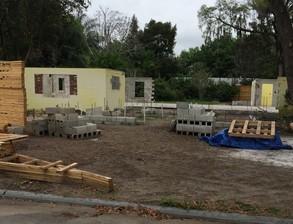Merritt Park Exterior In Progress--crop